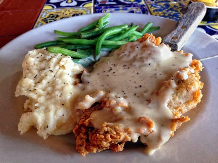 8. And nothing says home like our chicken fried steak.