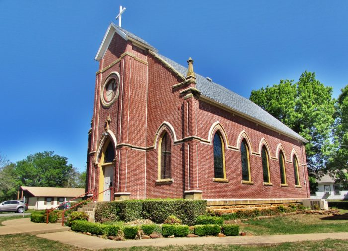 10. Because wherever you go, you'll pass at least 10 churches on the way.
