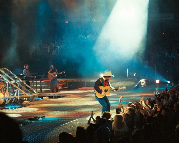 2. Boot Scootin' to Oklahoma's Garth Brooks as he crushed records with the release of his albums in the 1990s.