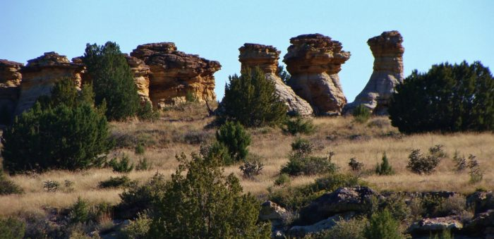 Incredible natural rock formations, including Wedding Party, Wedding Cake and Old Maid captivate visitors.