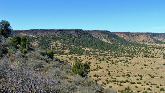 In 1959, Oklahoma created Black Mesa State Park - 549 acres of beautiful land, lakes, campgrounds, hiking and much more.