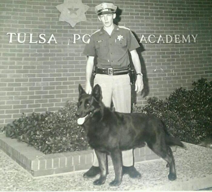 "9.  Rex, ""The Wonder Dog,"" from the Tulsa Police Department in 1975. His resume included 206 apprehensions, found missing children and saved multiple officer's lives."