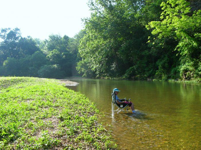 4. Flint Creek, Delaware County