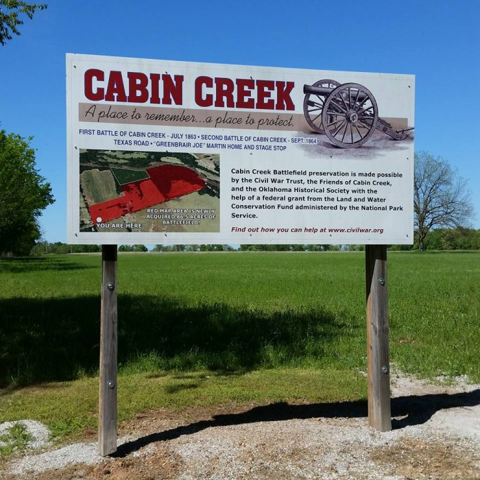 7. Cabin Creek Battlefield, Big Cabin