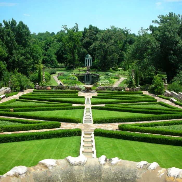 3. Philbrook Museum Gardens, Tulsa