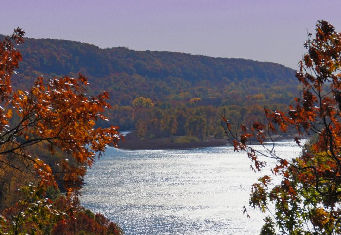1. This stunning overlook can be found on OK-80 near Ft. Gibson dam.