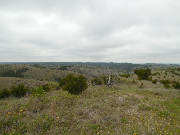 5. Check out the Arbuckle Mountains on the I-35 Overlook between MM 49-50, between Davis and Ardmore.