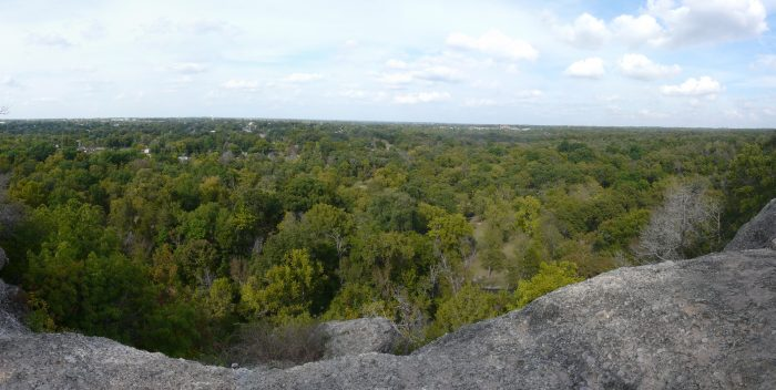 8. Bromide Hill overlooks the natural beauty in the Chickasaw National Recreation Area.