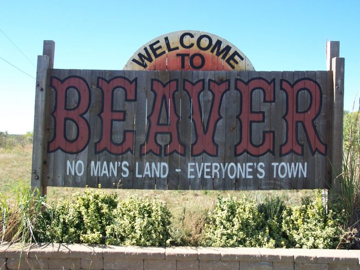 "3. In the town of Beaver, Oklahoma - A.K.A. ""No Man's Land."""