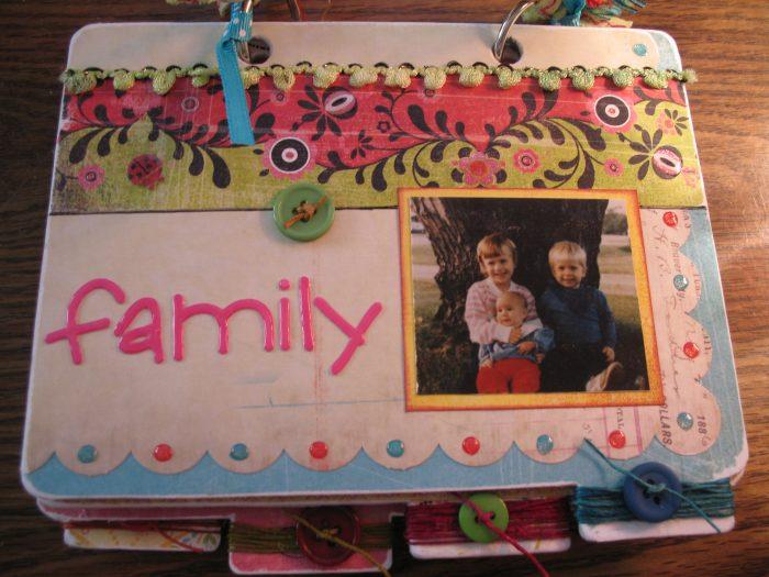 11. We flipped through family photo albums.