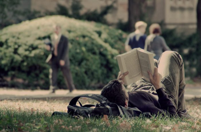 4. We read more books.