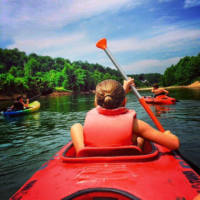 Kayak rentals are available and river access is easily accessible.