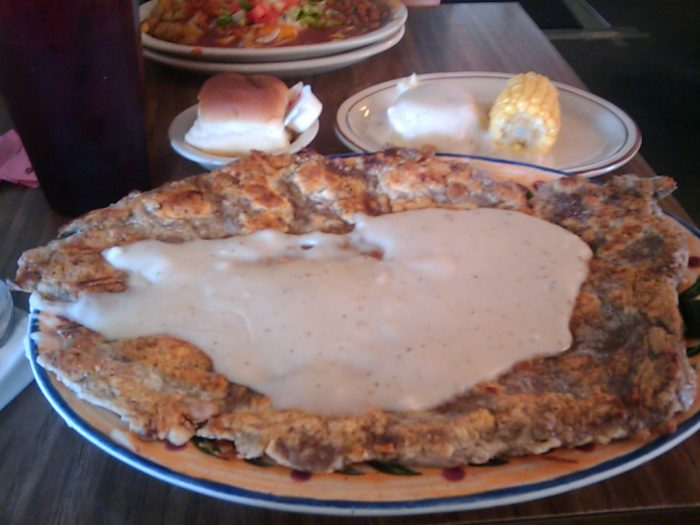 8. The portions are always big enough to fill us up.