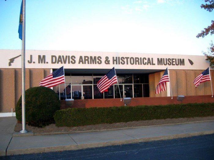 12. J.M. Davis Arms & Historical Museum, Claremore
