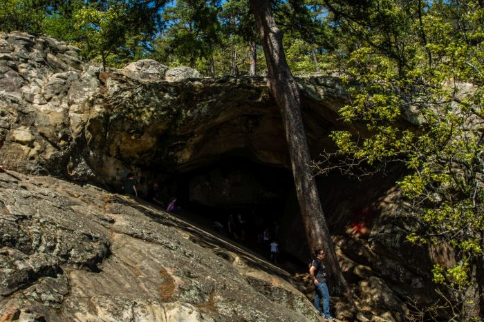 The Best Aboveground Cave To Hike To In Oklahoma