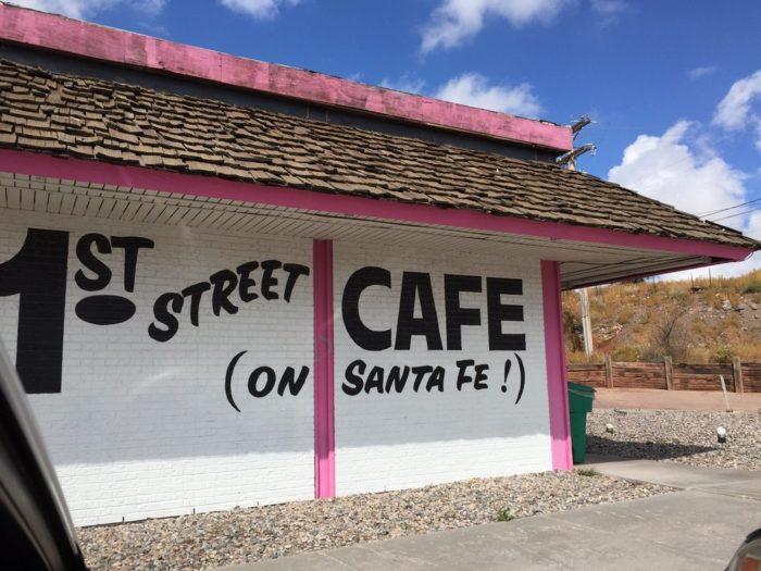 12. 1st Street Café, 1600 W Santa Fe Avenue, Grants