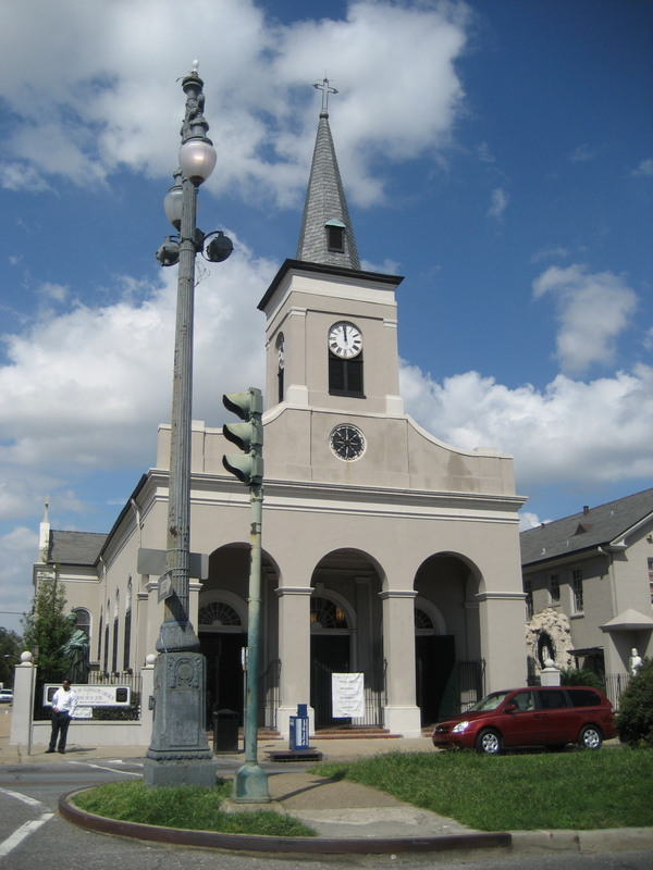 6) Our Lady of Guadaloupe Church, 401 Rampart St., Gurlie & Guillot-1827