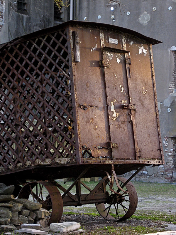 paddy wagon old charleston jail