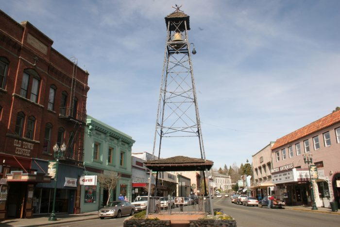 The Placerville Belltower