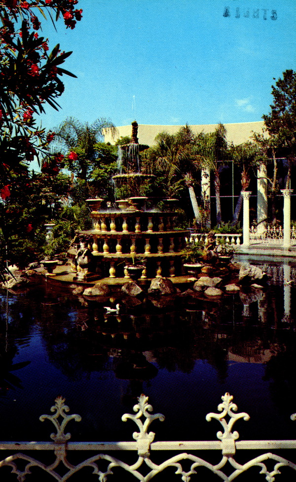 15th century Renaissance inspired fountain