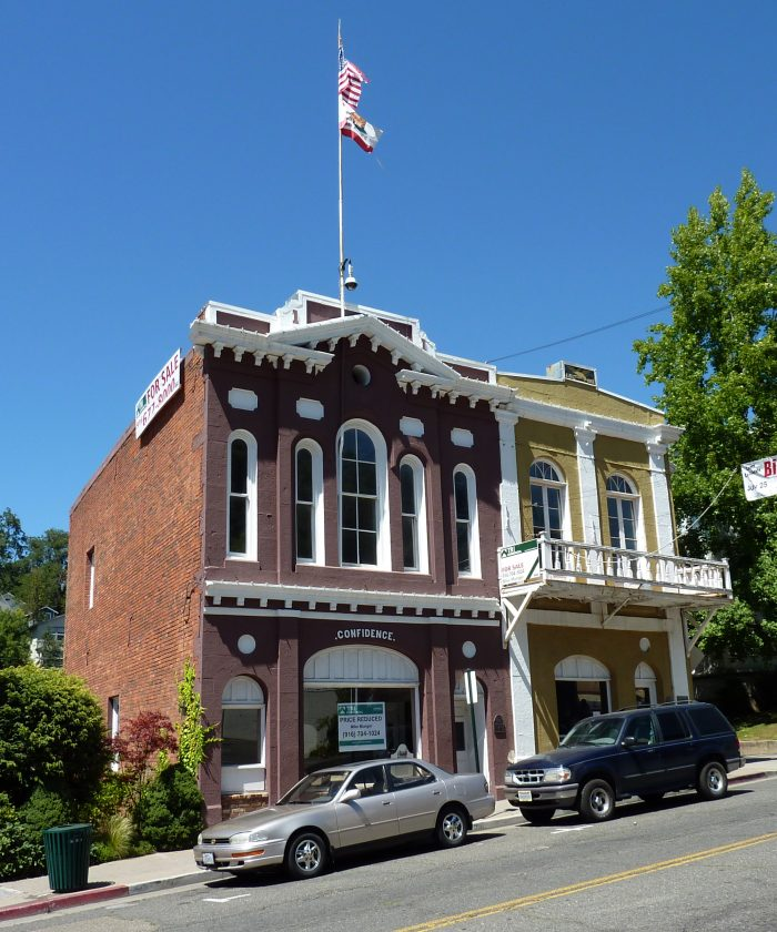 Confidence Hall & The First Placerville Courthouse
