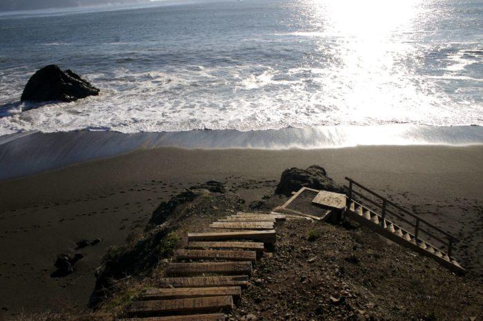 1. Black Sand Beach, Conzelman Rd Sausalito