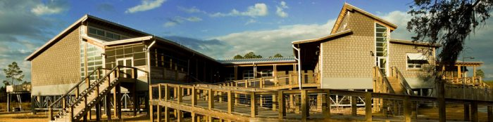 Aside from the breathtaking views, the reserve is filled with things to do, including the Grand Bay Coastal Resources Center, which is open to the public Monday - Friday and has no admission fee. The center features interpretive exhibits, environmental education programs, and more.