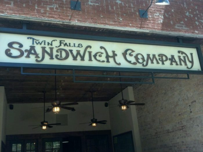 6. Twin Falls Sandwich Company, Twin Falls