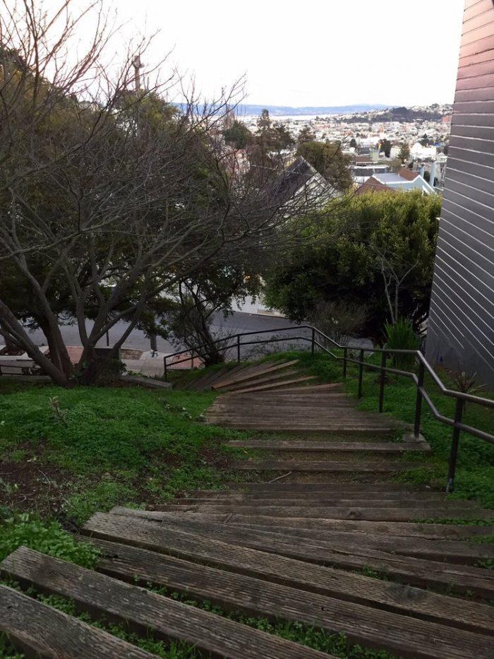 11. Saturn Street Steps