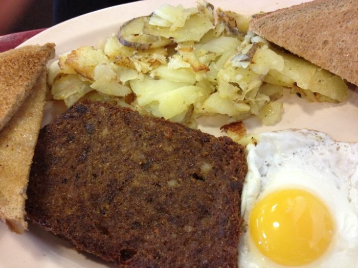 Or order from their drool-worthy hot menu. Scrapple, anyone?