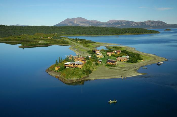1. Alaska: Tikchik Narrows Lodge