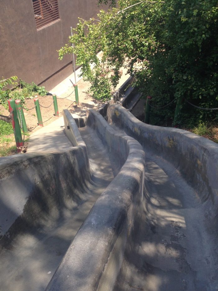16. Embrace your inner chid at the Seward Street Slides.
