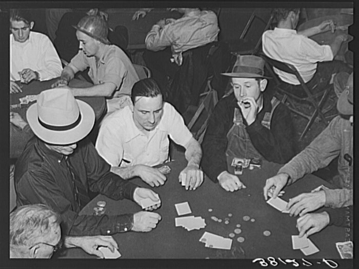 4. Gambling At Work - It was a thing....
