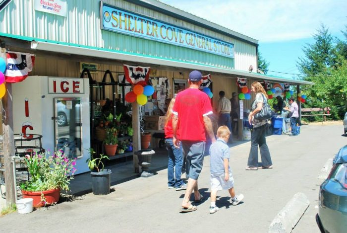 6. Shelter Cove General Store, Whitethorn