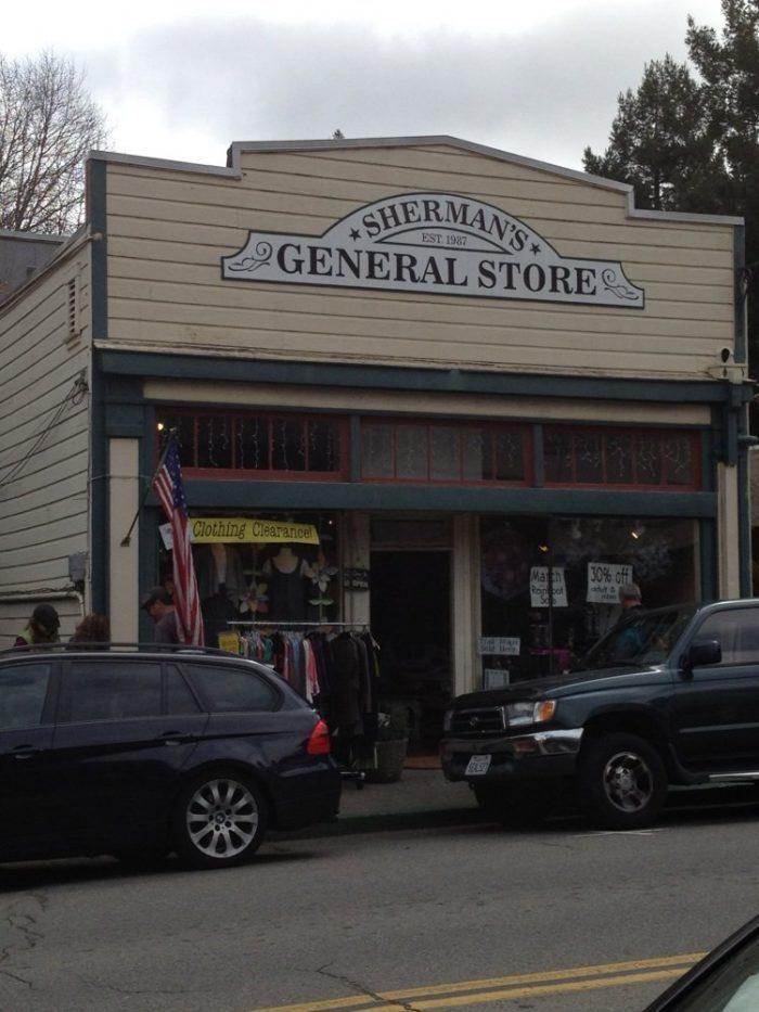 9. Sherman's General Store, Fairfax