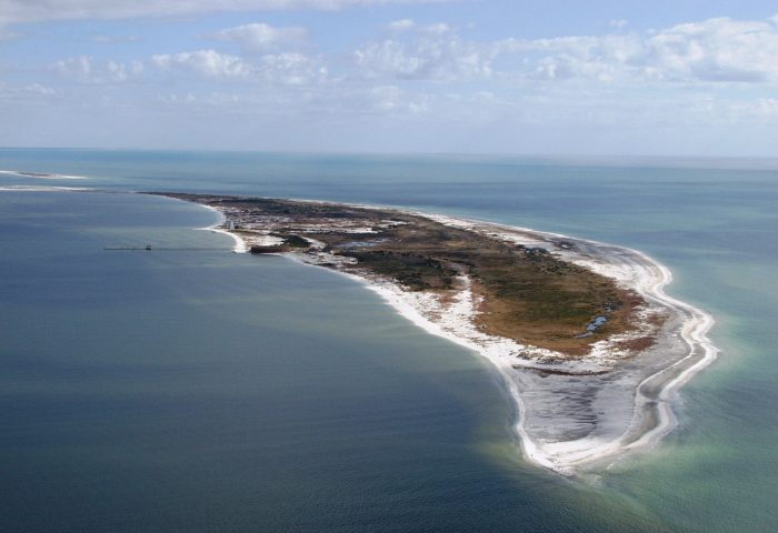 2) Ship Island, Gulfport, MS
