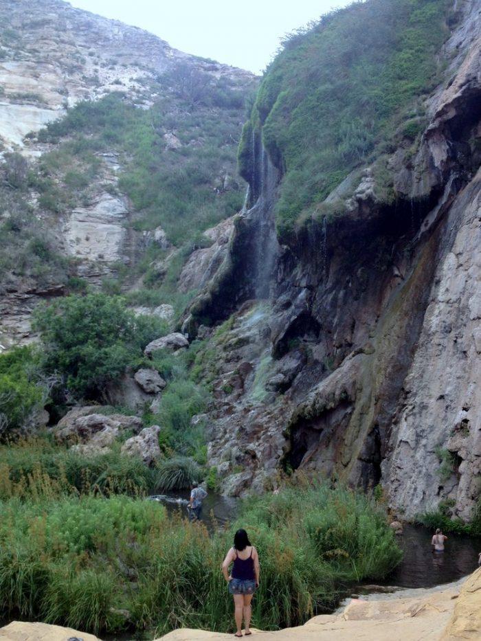 1. Sitting Bull Falls