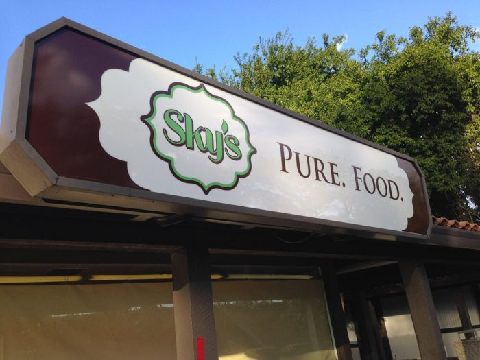 3. Sky's Pure Food, Redding