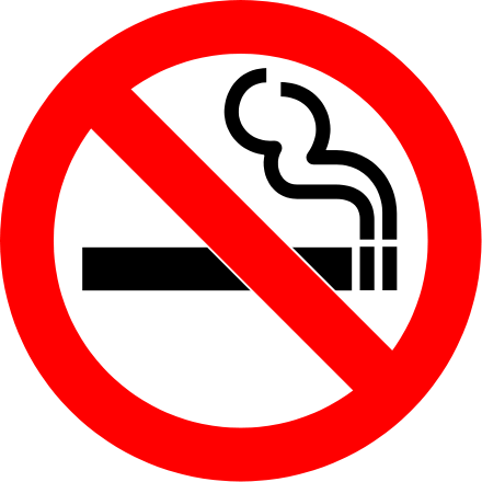 5. Smoking is banned from the legislature building...almost...