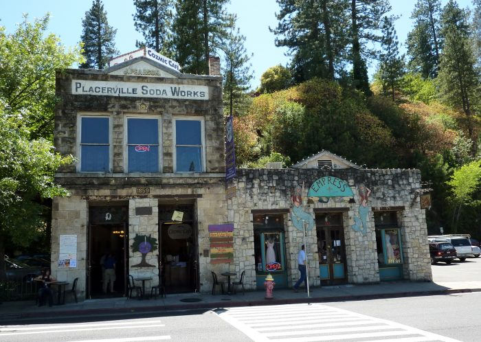 Placerville Soda Works  (Across the street from Sweetie Pies)