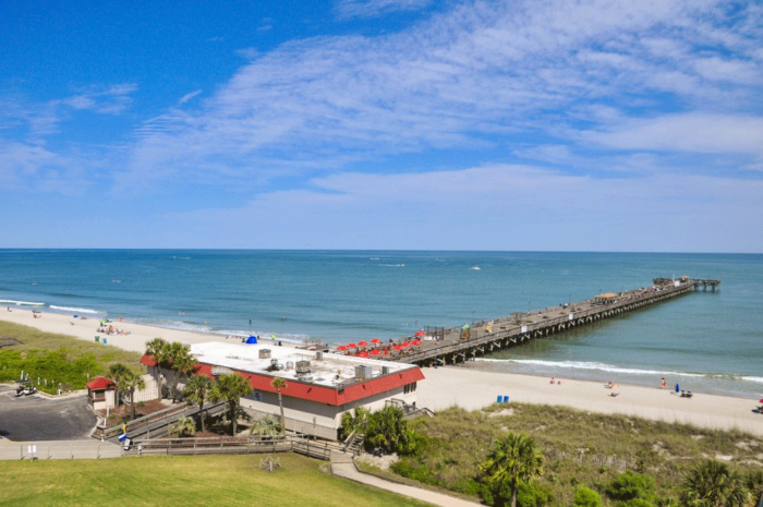 9 of the best piers in south carolina for family fun and for Fishing piers in myrtle beach