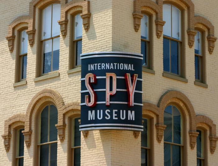 11. Visit the International Spy Museum.