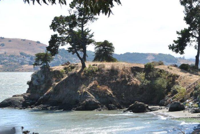6. San Quentin Beach, Marin County