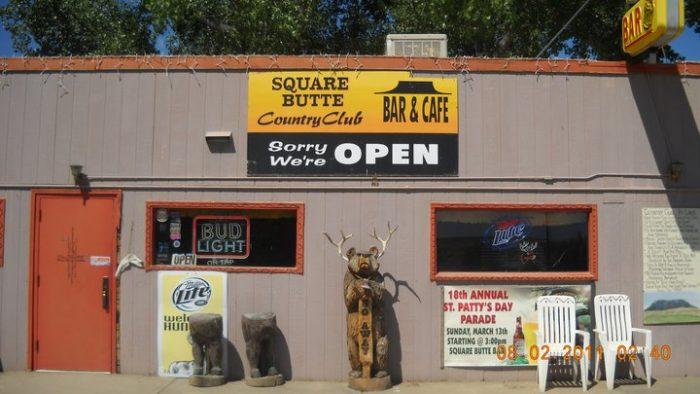 3. Square Butte Country Club, Geraldine