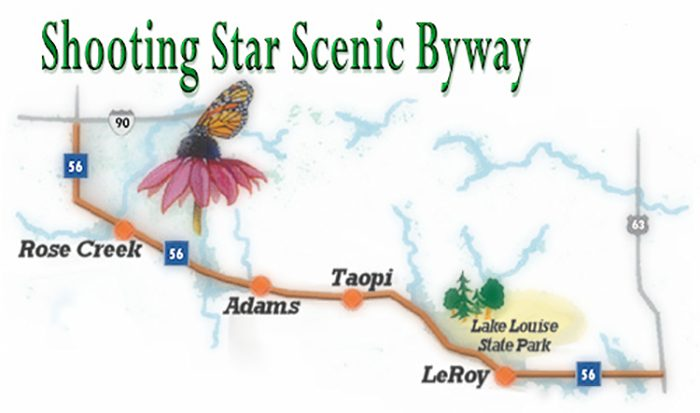 2. Shooting Star Scenic Byway