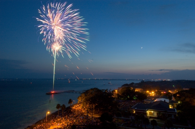 6. St. Simons Island 4th of July Sunshine Festival: July 2-4, 2016