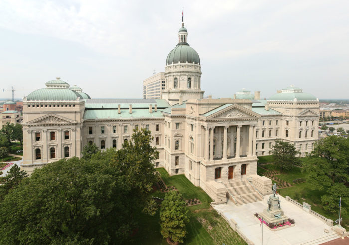 4. The Indiana State Capitol building was the first to have a chapel inside of it.