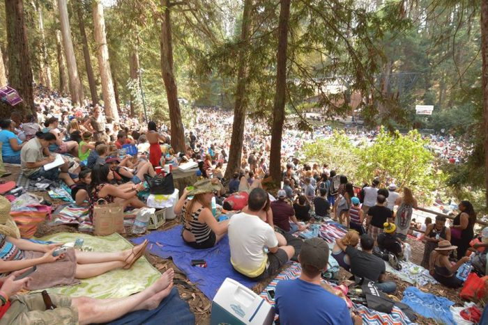 17. Catch live music at Stern Grove every Sunday (during the summer).