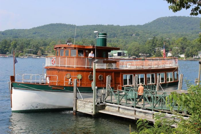Included in your resort fee, you can take an unforgettable boat ride on The Morgan.
