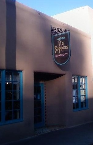 2. Tia Sophia's,  210 W San Francisco Street, Santa Fe